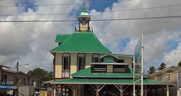 NEW KITTY MARKET-Georgetown GUYANA    Guyana in 2019