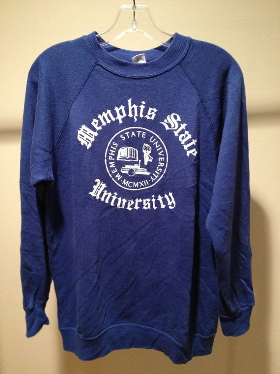 1970s Memphis State University Sweatshirt Different