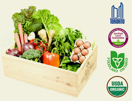 Fresh City Farms Organic Local Produce Delivered To Your Door Organic Food Delivery Organic Recipes Toronto Food