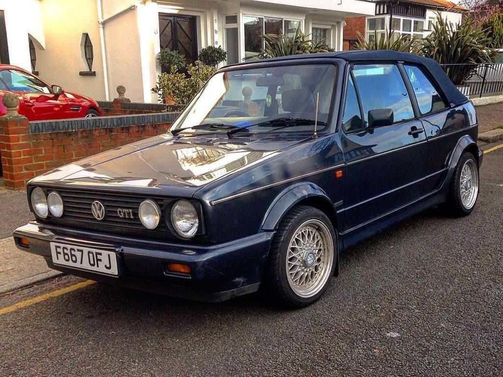 the humble golf vw golf gti mk1 mk1golf golfgti cabriolet convertible bbs volkswagen. Black Bedroom Furniture Sets. Home Design Ideas