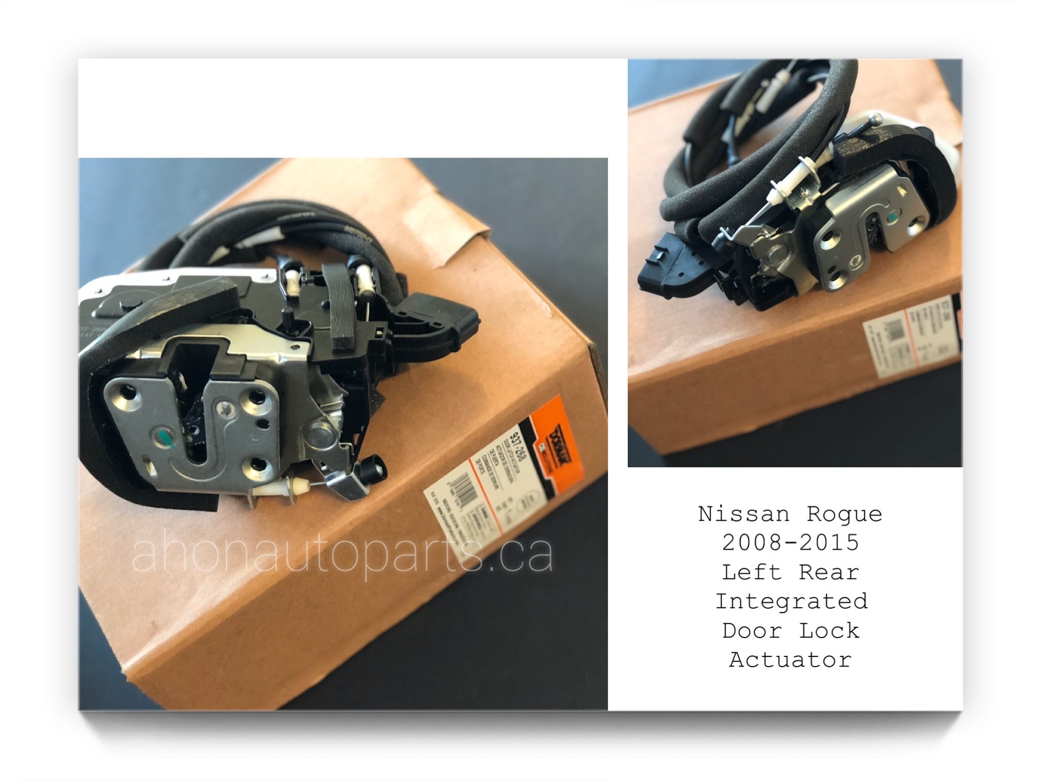Integrated Door Lock Actuator By Dorman 937 268 Nissan Rogue Select Actuator Nissan Rogue