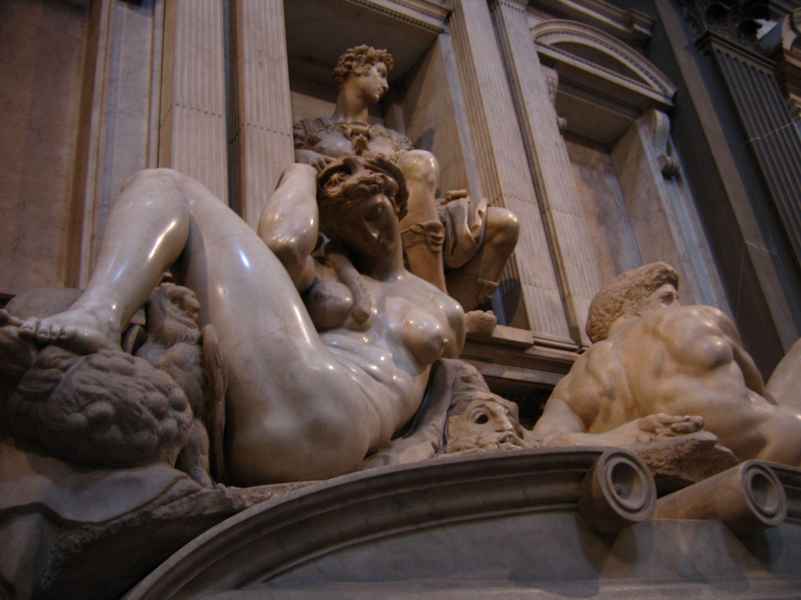Michelangelo- Medici chapel