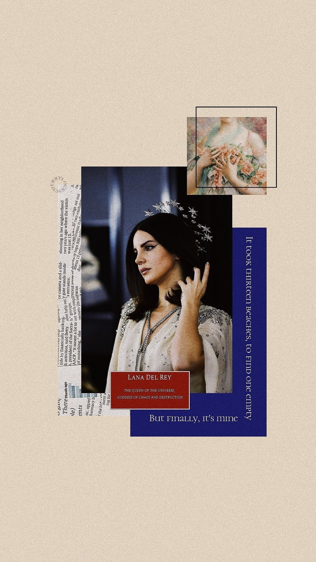 Lockscreen Lana Del Rey 13 Beaches Lana Del Rej Oboi Dlya Iphone Banner