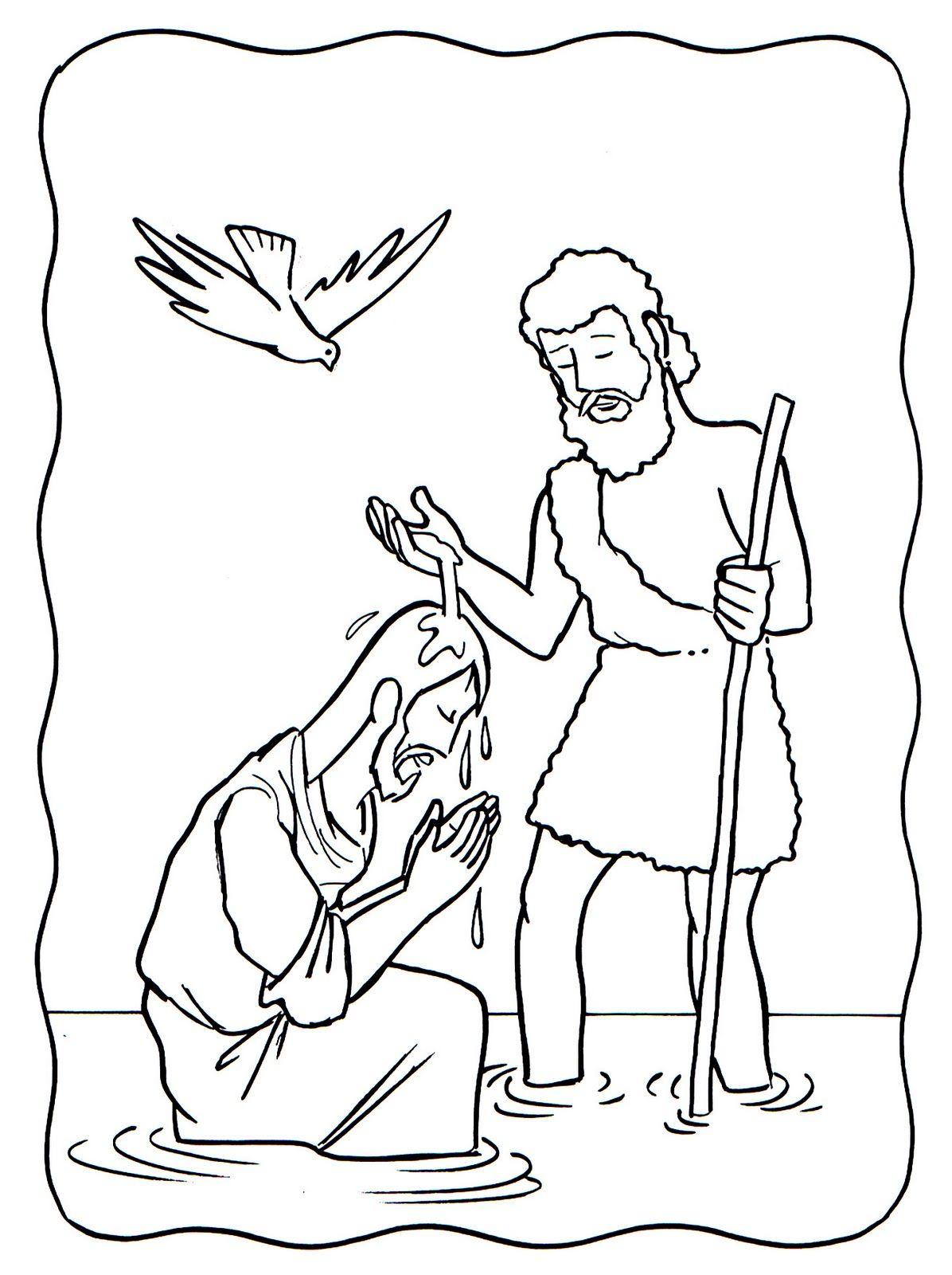 1+El+bautismo+de+Jesus.jpg (1196×1600) | WOODBURNING PATTERNS ...