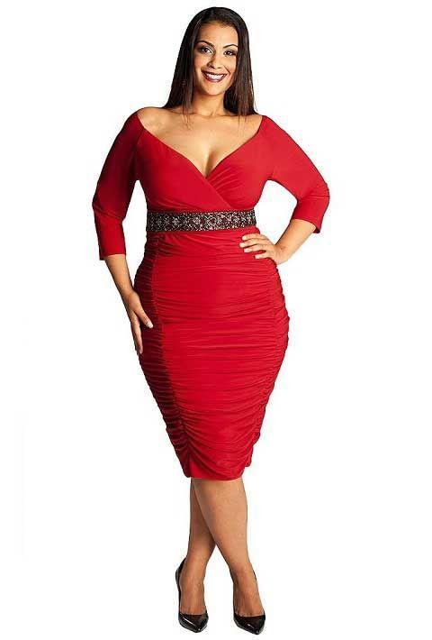 Designer Plus Size Clothing Length Re Stretchy Plus Size