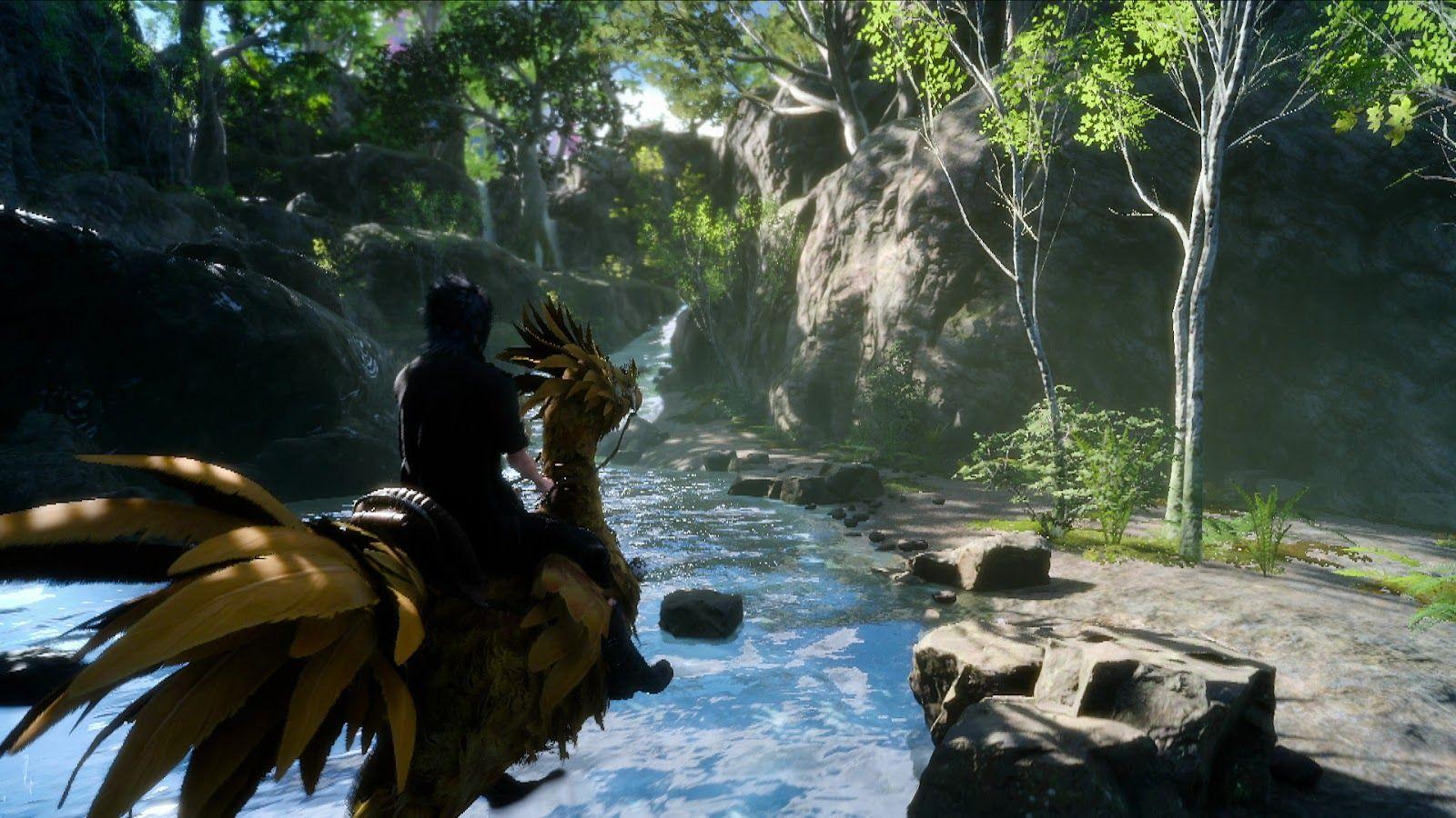 Hajime Tabata, Final Fantasy XV , FFXV PS4 Pro, 1080p, 60fps