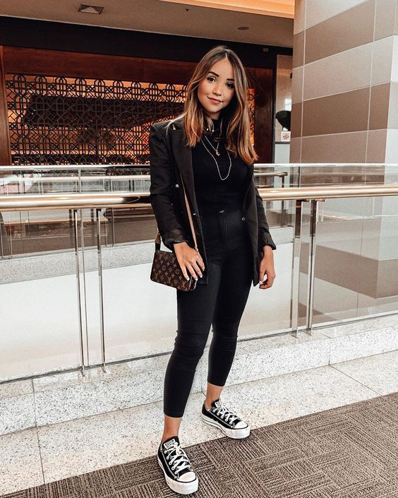 Best 12 All black outfit - Outfits ta