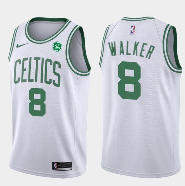 Men S Boston Celtics 8 Kemba Walker Whtie Nike Swingman General Electric Stitched Nba Jersey Nba Jersey Boston Celtics Amazing Shopping
