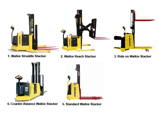 Pictures Of Different Forklifts What Is A Walkie Stacker