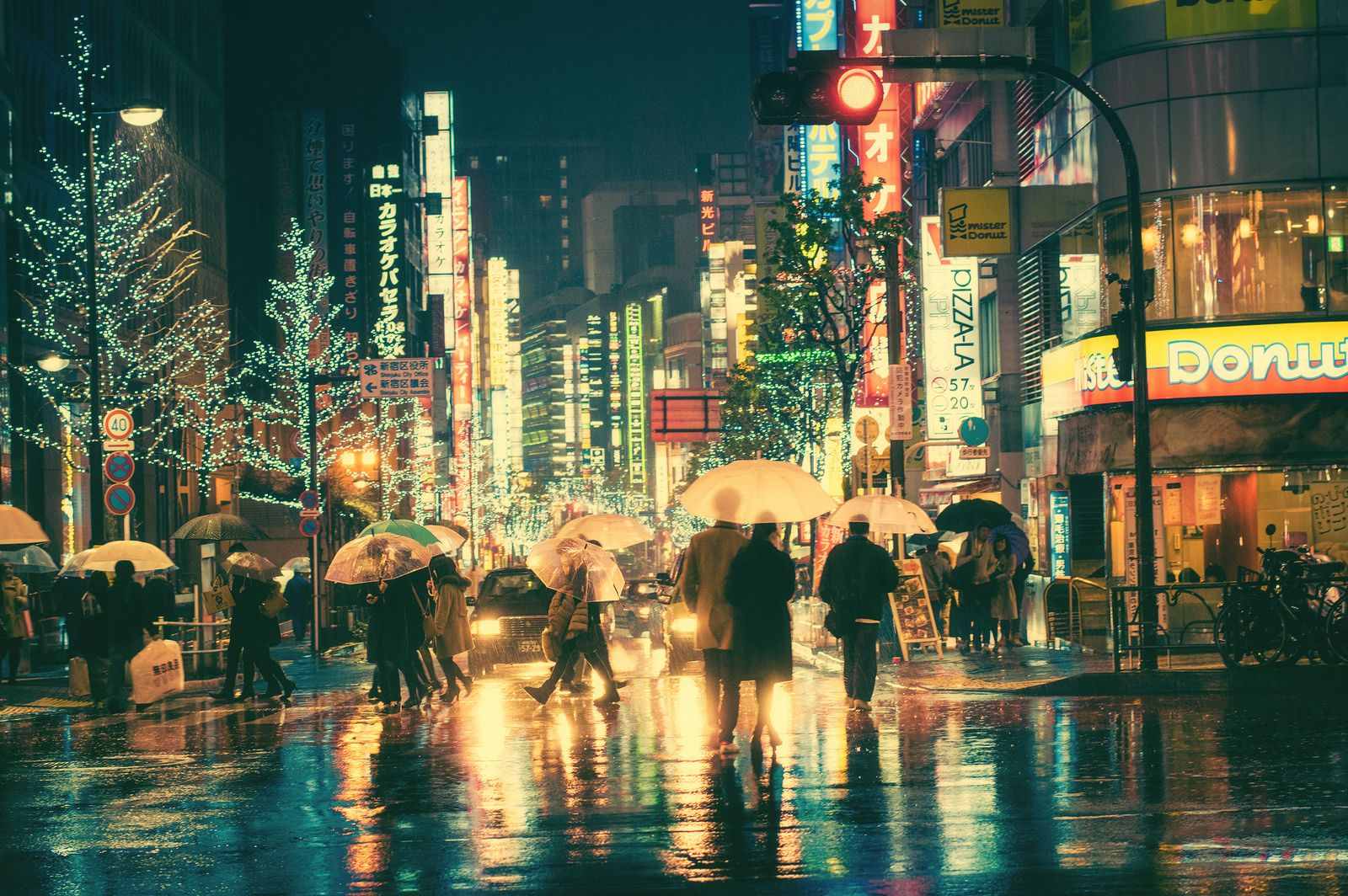 Untitled By Masashi Wakui Night Rain Rainy Night Urban Photography Street Photography
