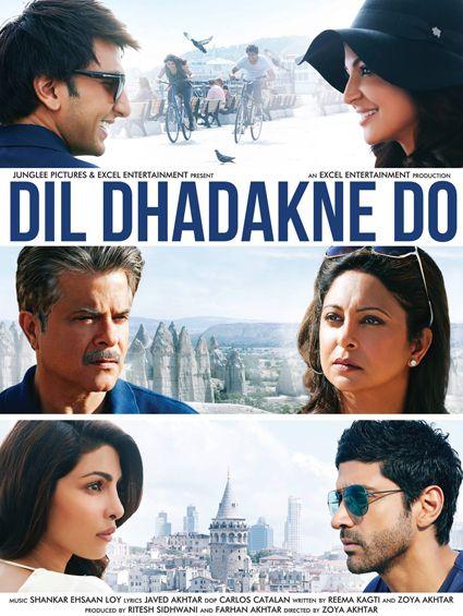 Dil Dhadakne Do Bollywood Posters Bollywood Movies Film