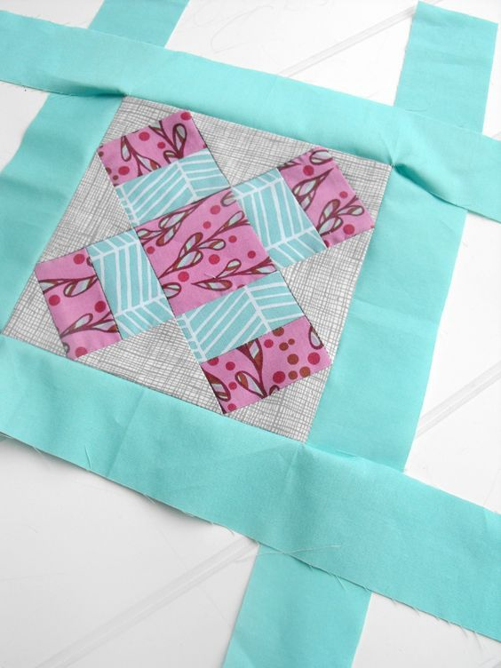 Mitered Quilt Borders A Sewing Step By Step Tutorial Quilt Corners Quilts Quilt Binding