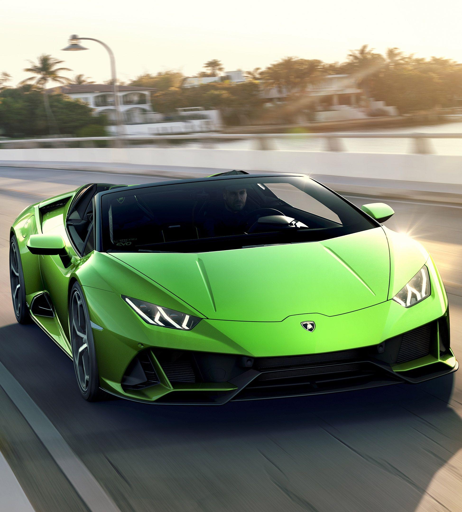 2019 Lamborghini Huracan Evo Spyder The Man Moving Fw