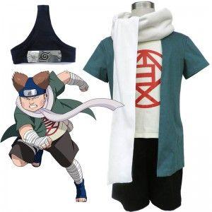 Naruto Choji Akimichi Cosplay Costume Halloween Costumes