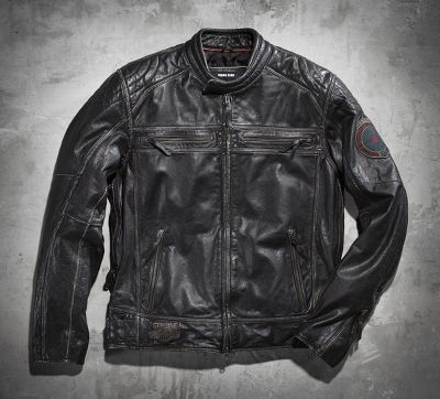 Men's Black Label Buffalo Leather Jacket