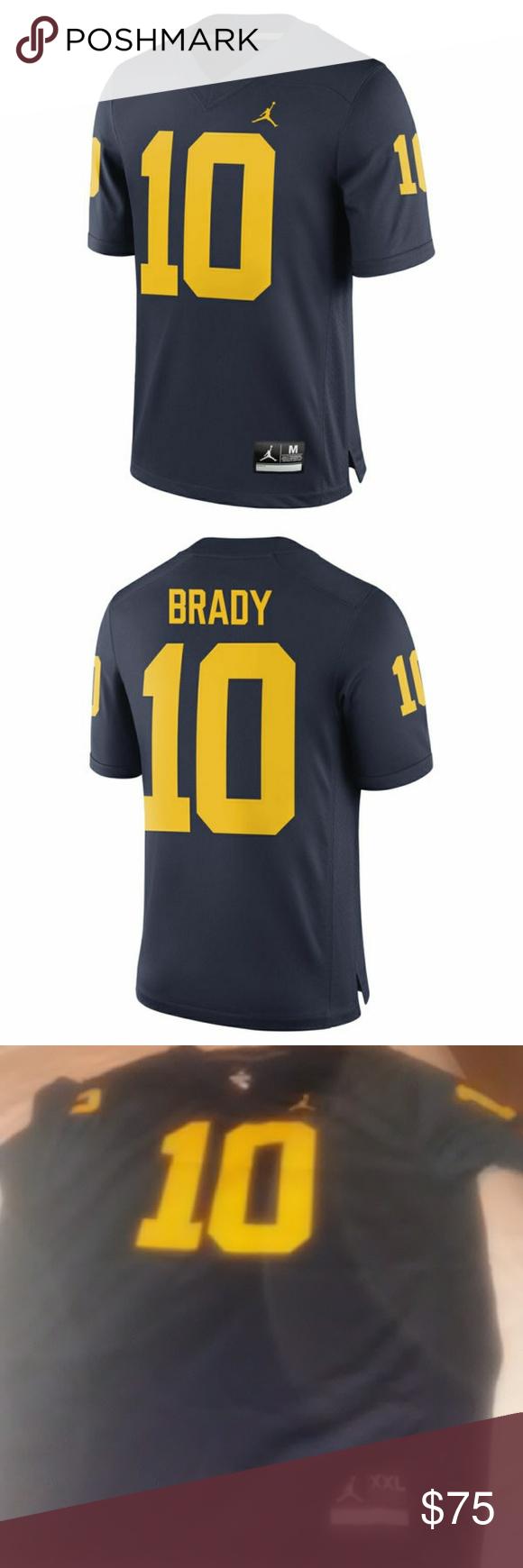 54e9f8d8084dbf Tom Brady Michigan Wolverines Brand Jordan Alumni Brand new Jordan Other