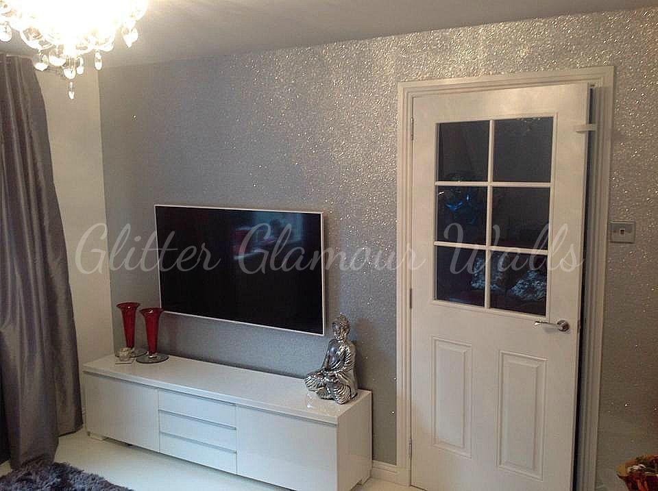 Glitter wallpaper - samples