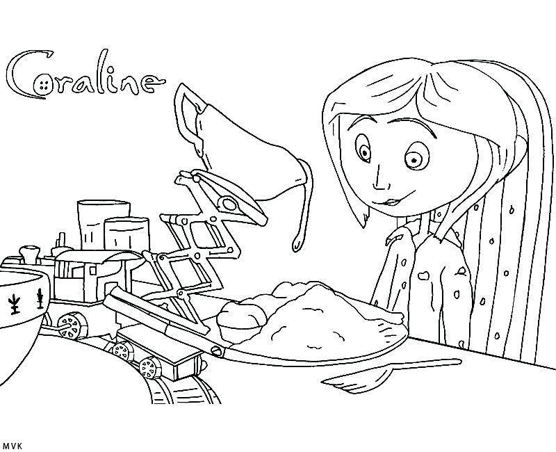 Coraline Desenho Para Colorir coraline desenho para ...