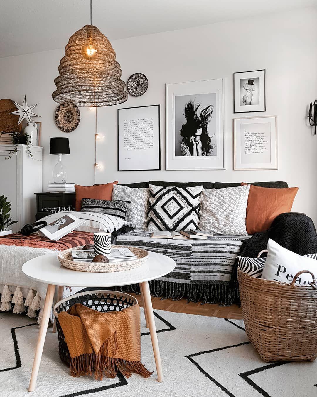 Provenance De La Photo Instagram Mk Nordic Interiordesign Interiors Design Deco Skandin In 2020 Living Room Ideas 2019 Beautiful Living Rooms Boho Living Room