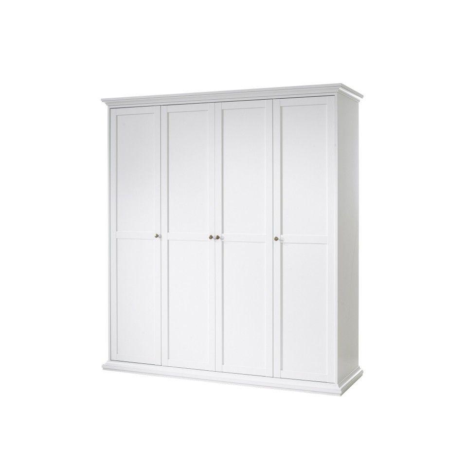 kleiderschrank pariso 4 t rig wei landhausstil tall cabinet storage storage cabinet