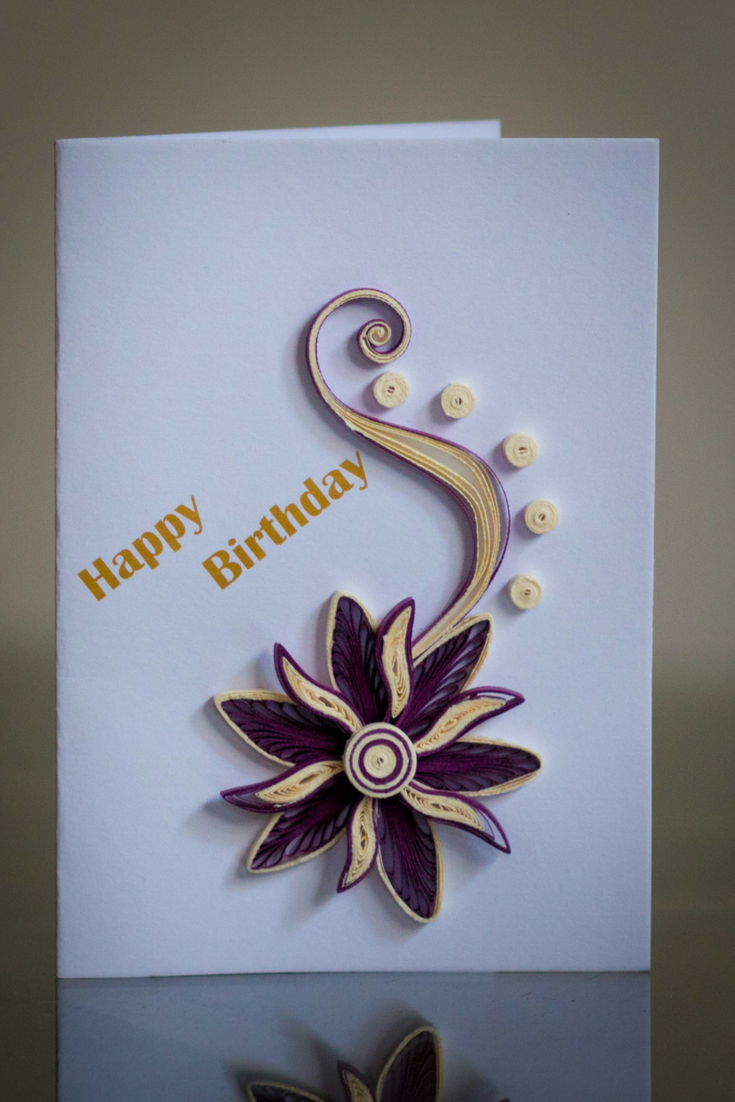 Paper Quilling Birthday Cards Classic Collection Greeting Cards