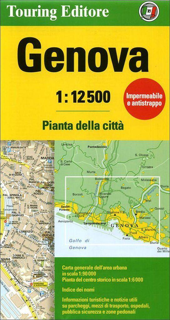 Buy map: Genova, Italy by Touring Club Italiano – YellowMaps Map