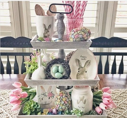 DIY Easter Centerpieces - Mommy Today Magazine #hoppyeaster