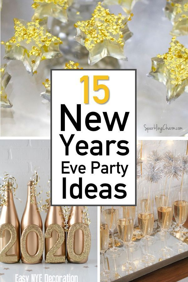 15 Amped Up New Years Eve Party Ideas | The Unlikely Hostess
