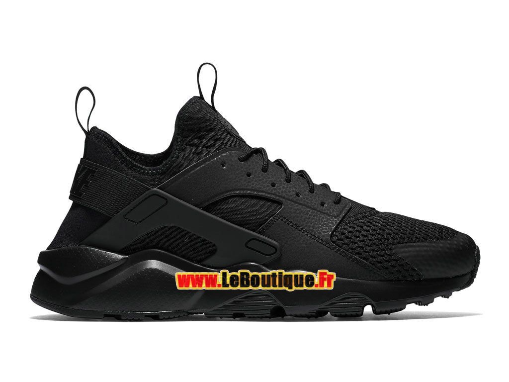 9a5067b0422 Nike Air Huarache Ultra Breathe - Chaussures Nike Pas Cher Pour Homme Noir  Noir 833147-001