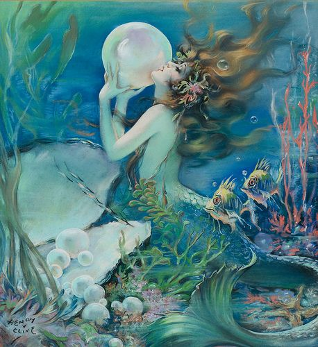 The Mermaid by Henry O'Hara Clive