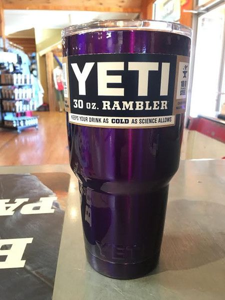 bc86130de2e Yeti Rambler 30 ounce - Custom Powder Coated Purple Tumbler *Powder Coating  Process is applied by Patriot Jacks Outfitters / not Yeti Coolers.