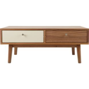 Hygena Merrick Coffee Table Solid Wood With Walnut Effect At Argos Co Uk Your Online For Occasional And Tables