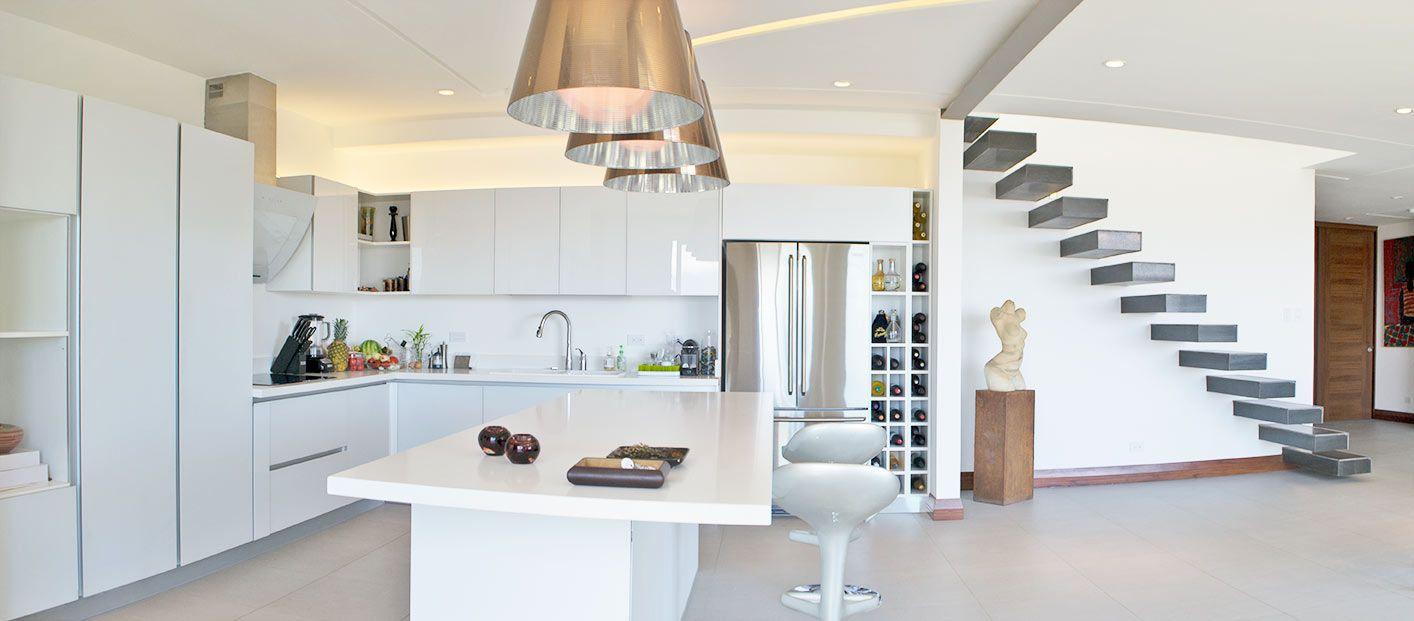 Modern kitchen in costa rica   Kitchen inspo   Pinterest   Cocinas