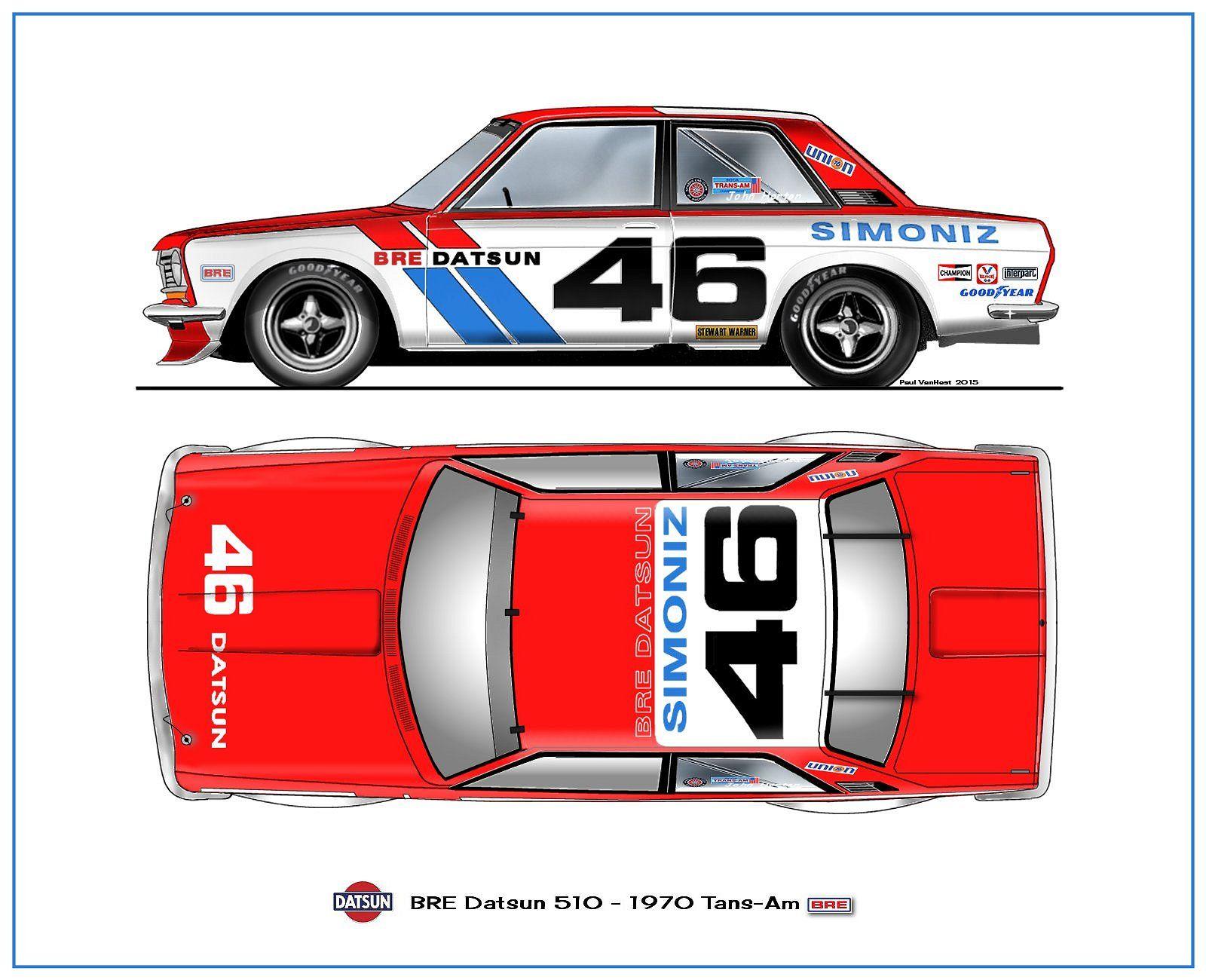 Datsun 510 Datsun Racing Car Design [ 1300 x 1600 Pixel ]