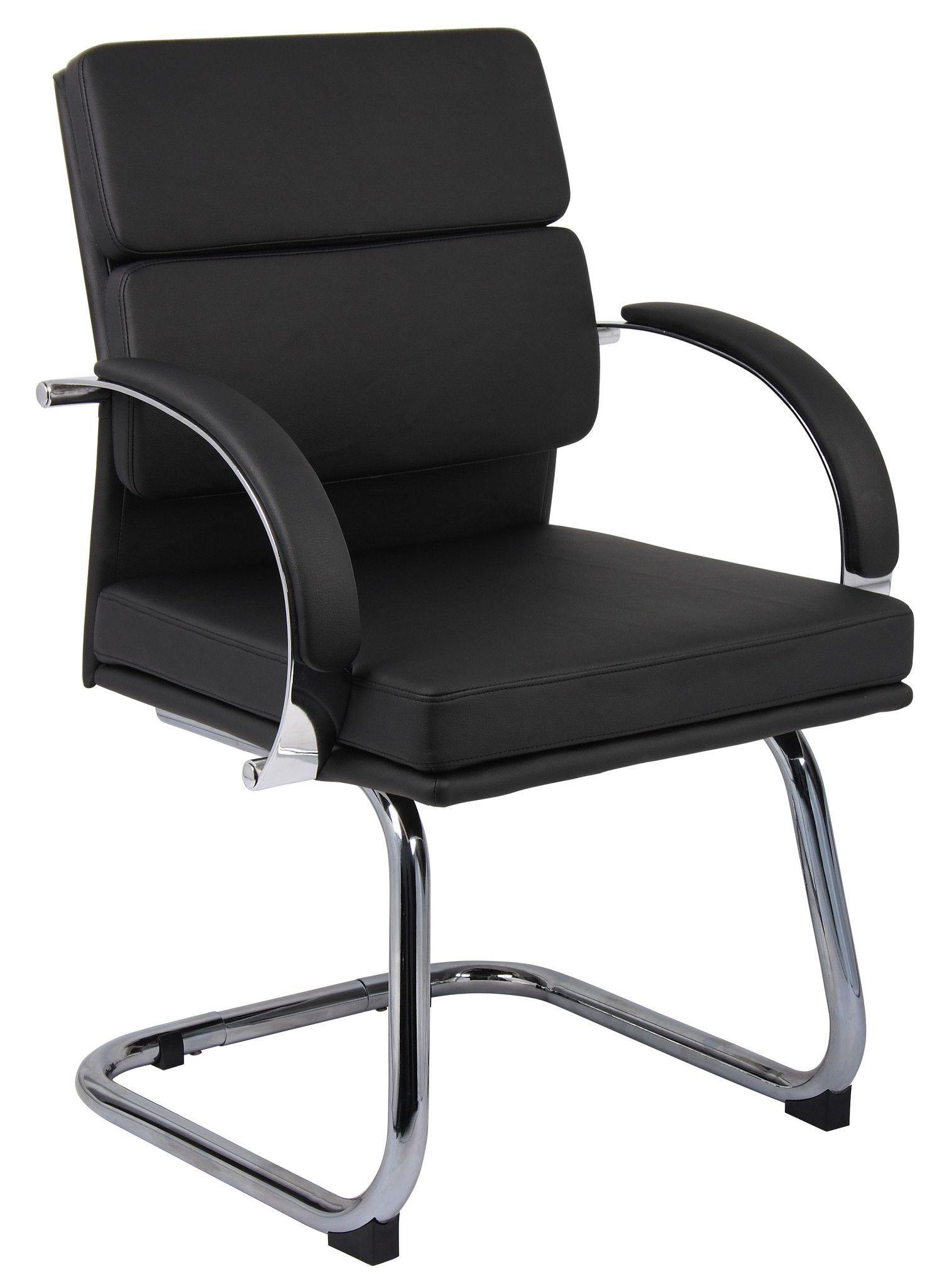 Boss B9409 Bk Caressoftplus Executive Series Chair Office Guest