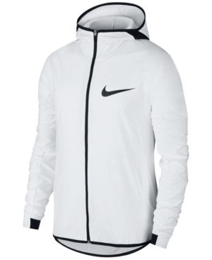 55e45c15219d Nike Men s Showtime Shield Basketball Jacket - White 2XL