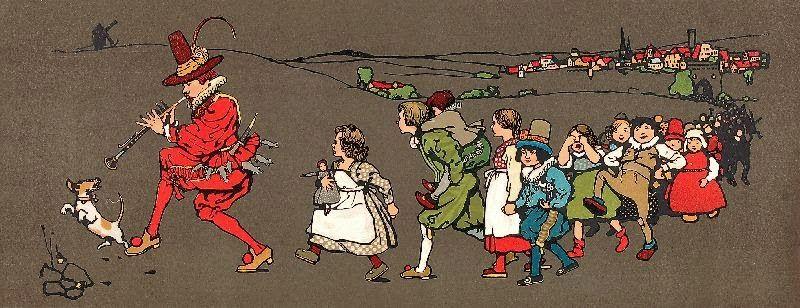 Иллюстрации к книге детских сказок неизвестного автора, начало 20 в.