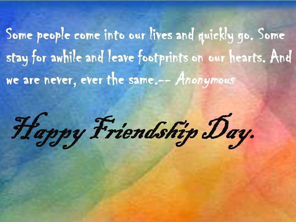 Anonymous Quotes About Friendship Thanks For Being My Friend Happy Friendship Day Best Wishes Quotes
