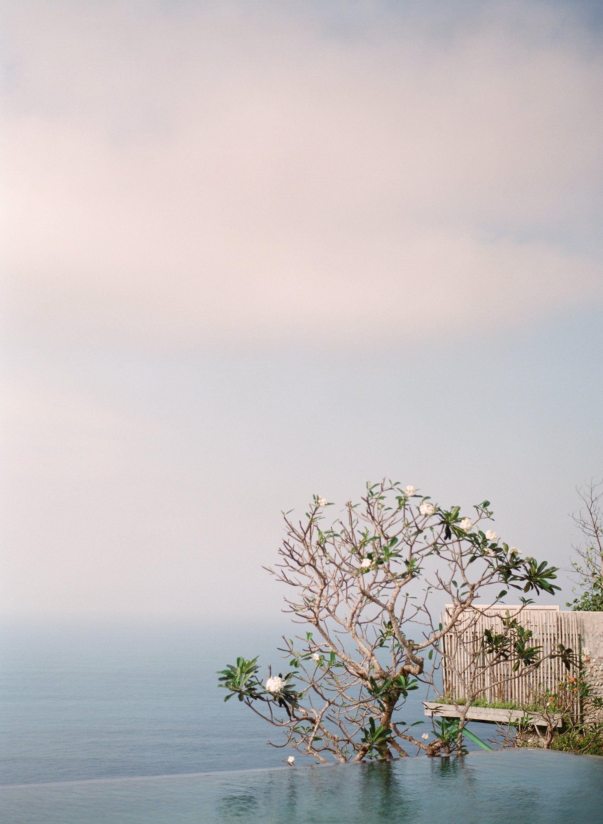 Bali wedding venues on the beach  Infinity Pool Khayangan Estate Uluwatu Bali Indonesia