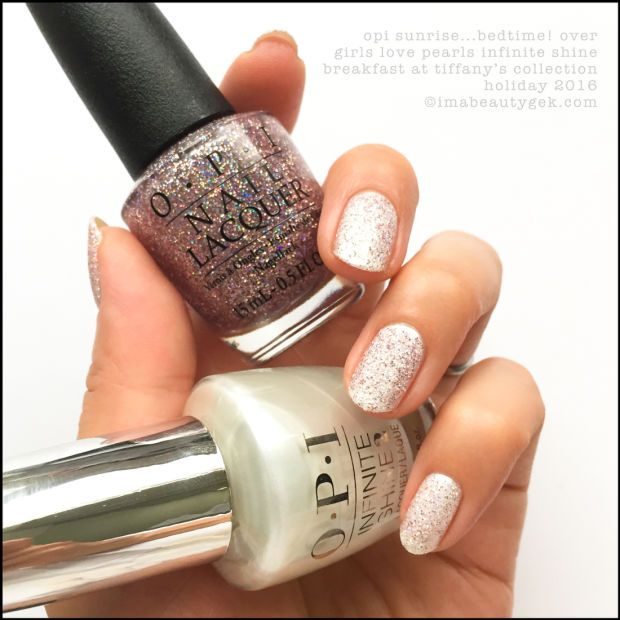 OPI BREAKFAST AT TIFFANY\'S COLLECTION SWATCHES/REVIEW | Esmalte