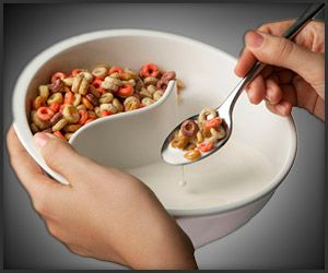 Obol, the perfect bowl that keeps our cereal crunchy - this is perfect for me!