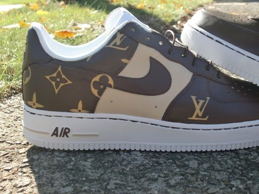 73b0d1e72f8 Louis Vuitton Air Force 1 | Louis Vuitton Air Force Ones | Kicks ...