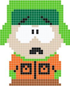 Pixel Art Southpark Pesquisa Google With Images Pixel Art South Park Pixel Art Templates