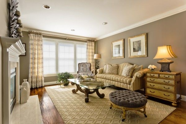 NEW AGE Interiors Chose A Custom Rug, Crafted From Nourisonu0027s Royal  Jacquard Broadloom Collection,