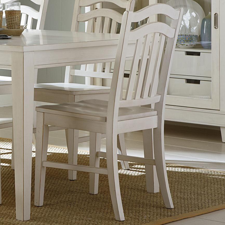 Summerhill Slat Back Side Chair By Sarah Randolph J At Virginia Furniture  Market
