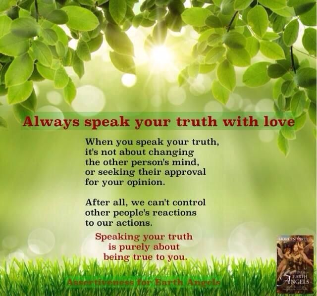 Assertiveness for Earth Angels By Doreen Virtue