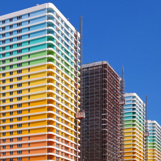 Modern Architecture Color yener torun - colourful modern architecture in istanbul | yener