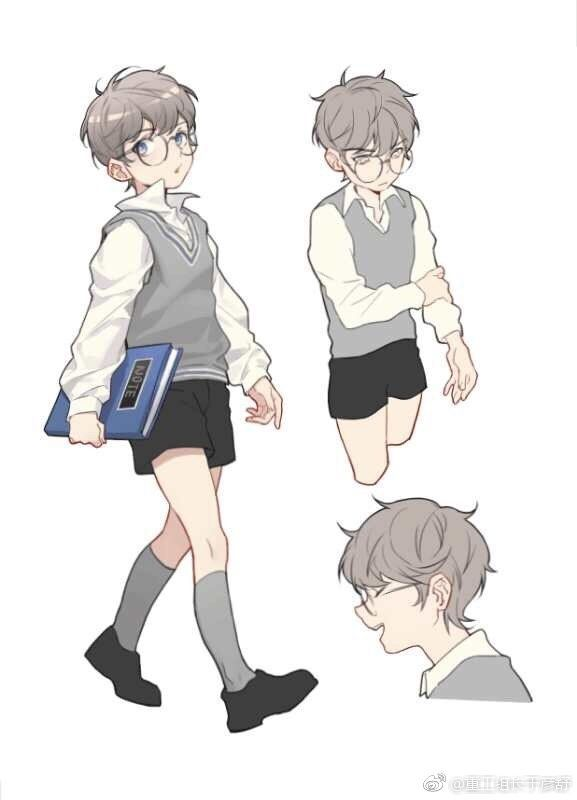 Obychnyj In 2020 Cute Art Cute Art Styles Boy Art