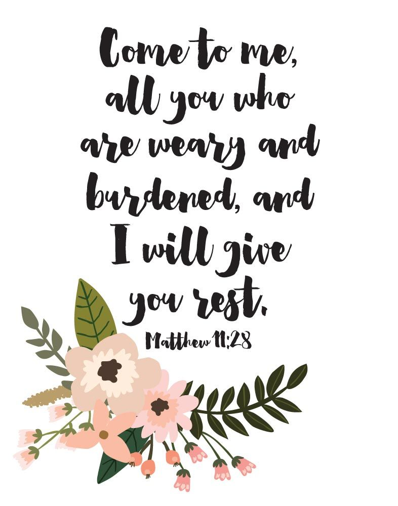 Floral Inspirational Quote Wallpaper The Only True Rest You Will Ever Receive Is From Jesus