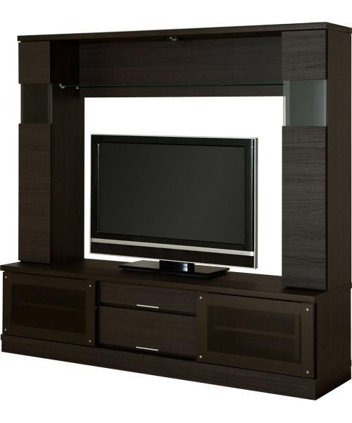 ダウンライトがムーディに演出するテレビボード(ローザ 170セット)